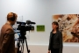 TV Interview at Huddersfield Art Gallery CBP show - Copy