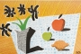 David Hockney, Two Apples & One Lemon & Four Flowers, Lithograph, 33 x 52 cm, 1997